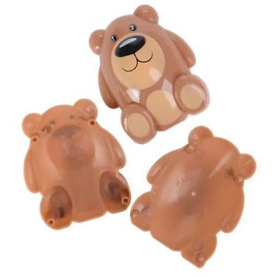 "2.75"" TEDDY BEAR PLASTIC EASTER EGGS"
