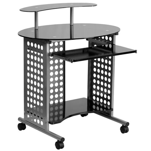 Flash Furniture Mobile Computer Desk, Flash Furniture Computer Desk