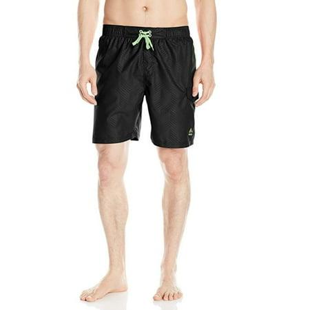 bb85f7dc3fb71 RBX - Active Men's Embossed Swim Trunks w/ Blocking & Pockets - Walmart.com