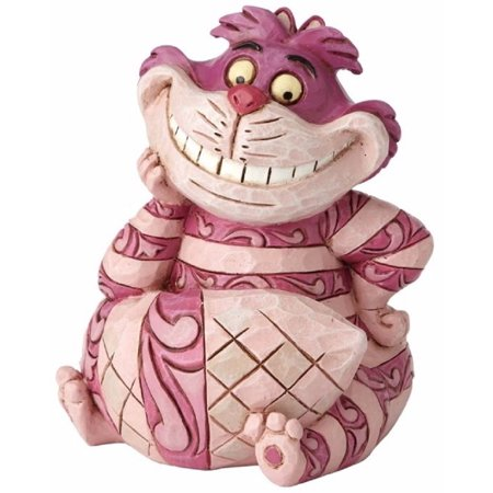 Jim Shore Disney Mini Cheshire Cat Figurine Alice and Wonderland 4056745 New (Cheshire Cat Decorations)