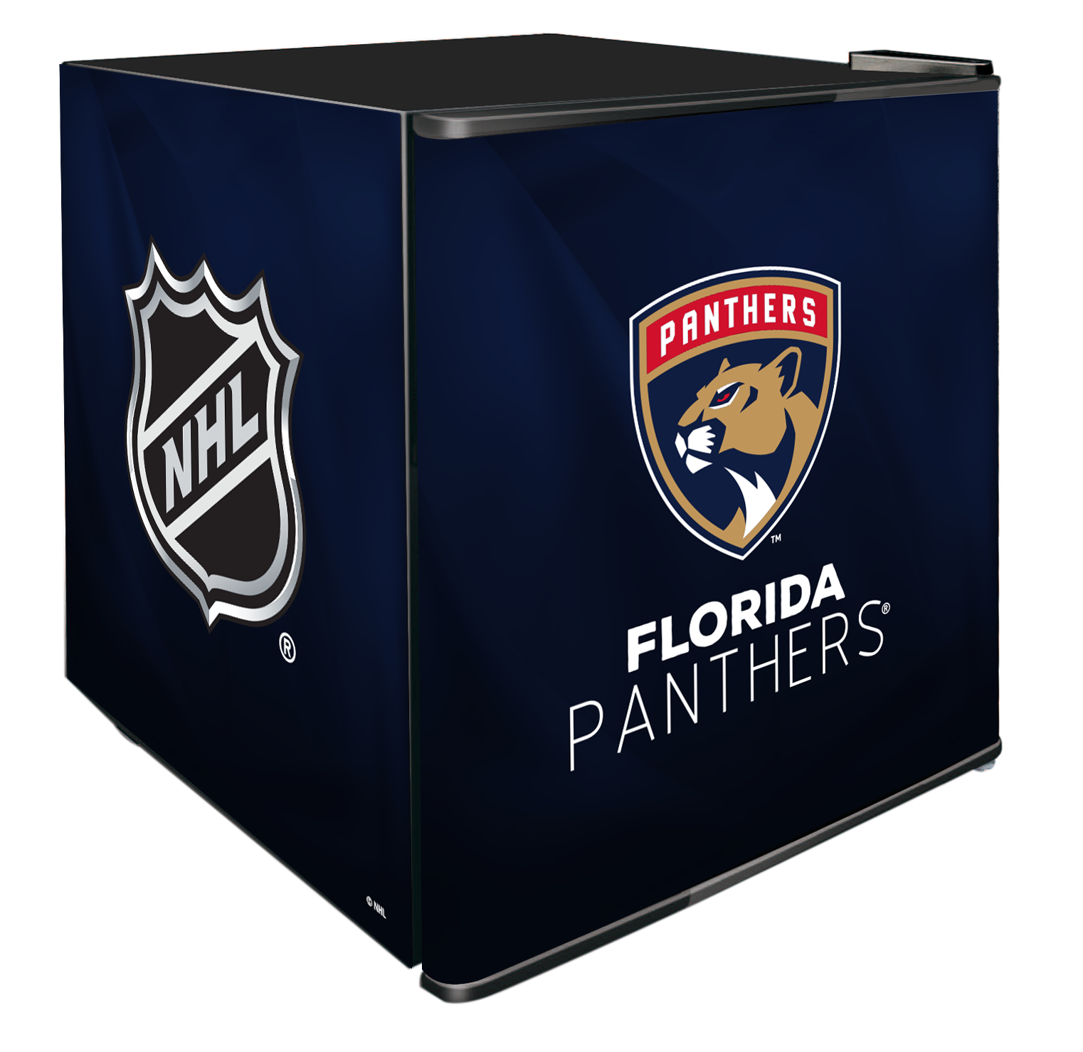 NHL Solid Door Refrigerated Beverage Center 1.8 cu ft - Florida Panthers