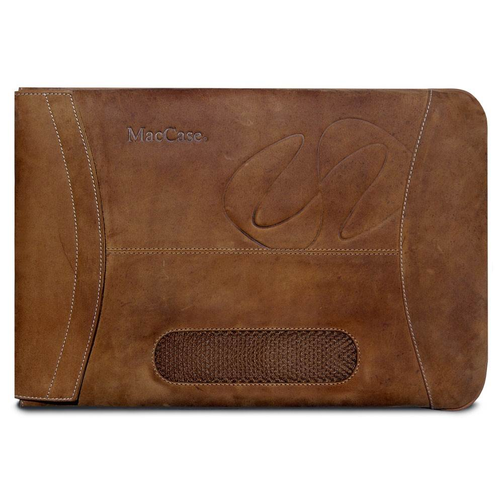 L13SL-VN 13 inch Premium Leather MacBook Air Sleeve - Vintage