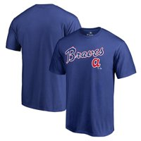 Atlanta Braves Fanatics Branded Cooperstown Collection Wahconah T-Shirt - Royal