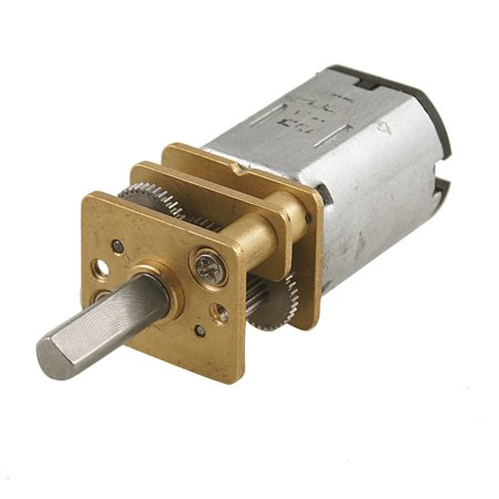 100RPM 6V 0.4A High Torque Mini Electric DC Geared Motor for DIY Toys - image 1 of 1