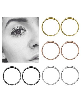 Strong-Willed 1pc Mix Size Surgical Steel Captive Hoop Rings Bcr Ring Eyebrow Tragus Ear Piercing Nose Closure Nipple Bar Lips Body Jewelry Jewelry & Accessories Body Jewelry