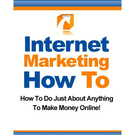 Internet Marketing How To - eBook