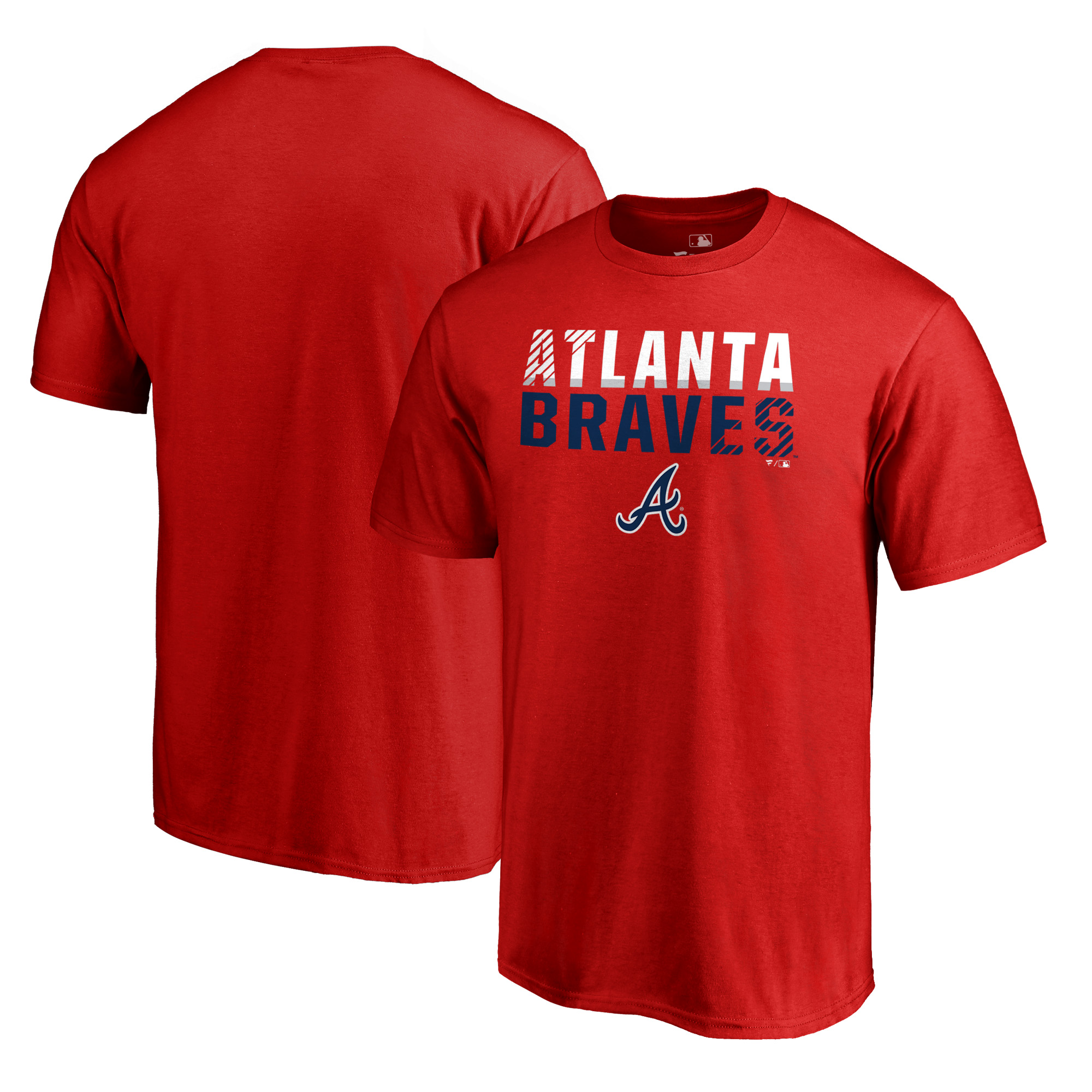 Atlanta Braves Fanatics Branded Team Fade Out T-Shirt - Red