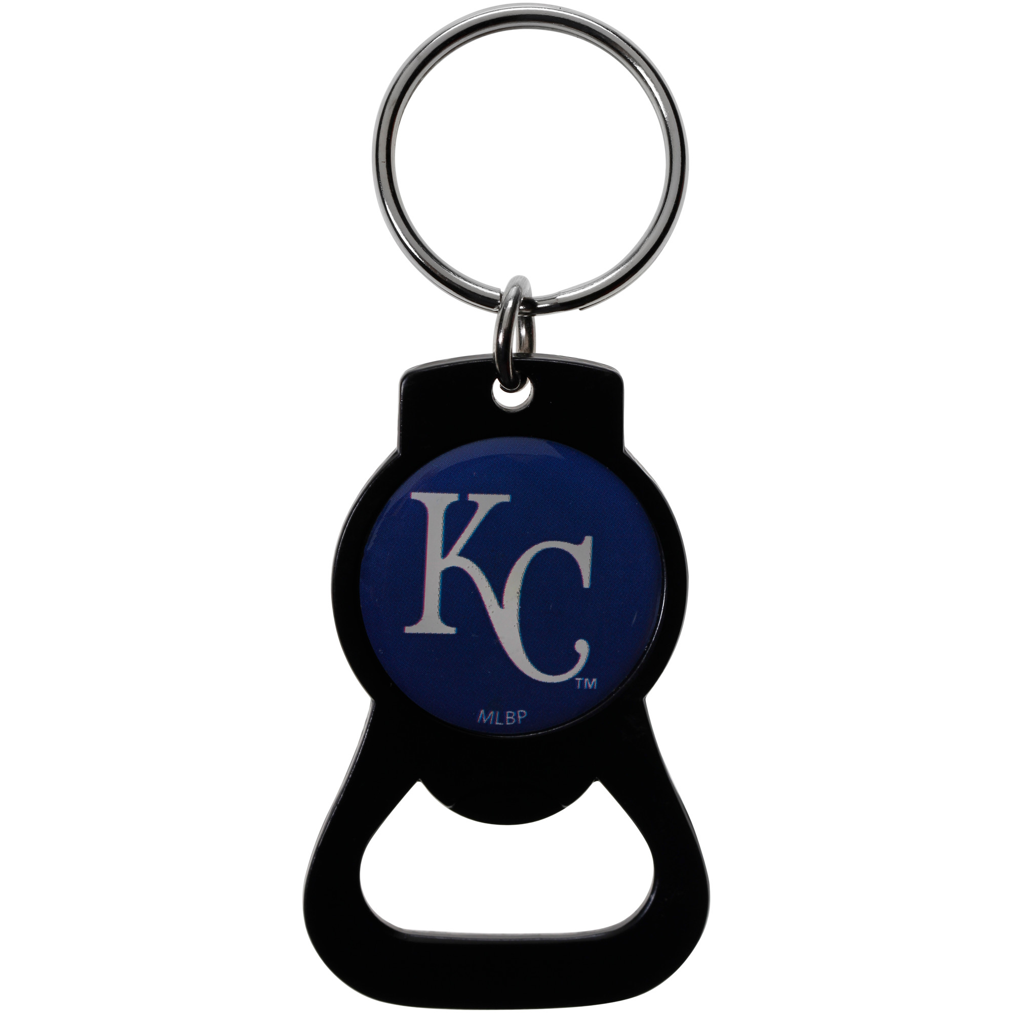 Kansas City Royals Bottle Opener Keychain - Black - No Size