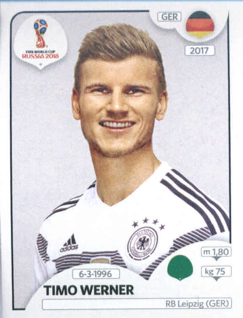 Panini World Cup Russia 2018-no 171-Timo Werner-Team Mate