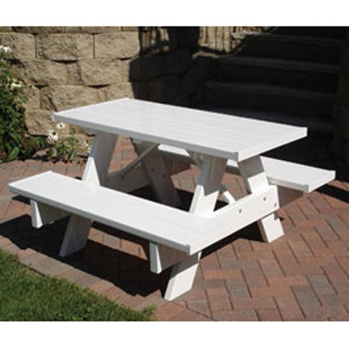 outsunny portable outdoor camp suitcase folding picnic table w 4 seats walmartcom