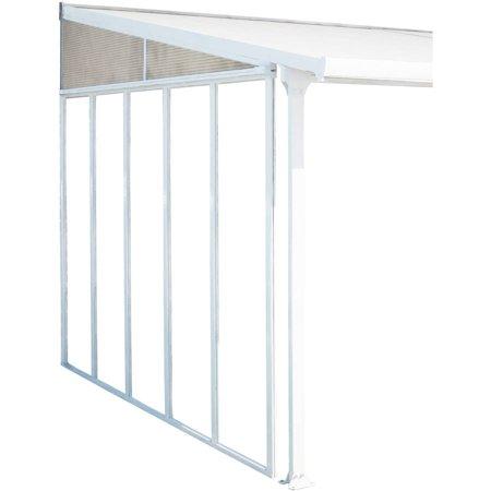Palram Feria Patio Cover Sidewall Kit 10 White