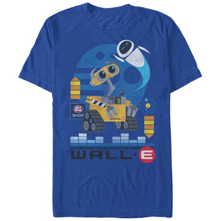 Wall-E Men's EVE Flight T-Shirt
