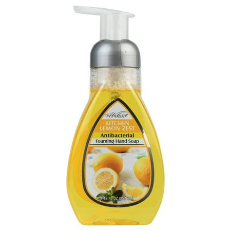 719 Walnut Avenue 12 Fl. Oz. Kitchen Lemon Zest Antibacterial Foaming Hand Soap