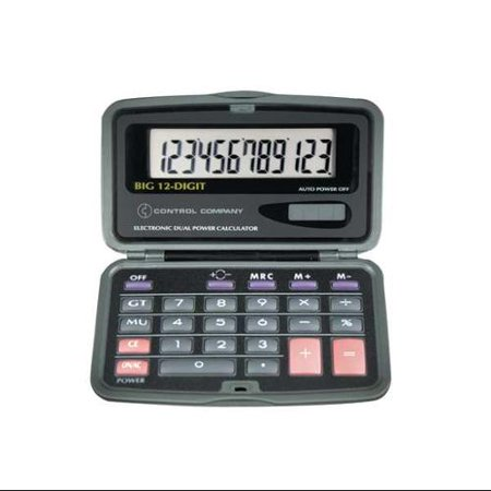 2 1 2   Portable Calculator  Control Company  6029