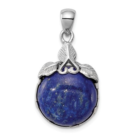 Roy Rose Jewelry Sterling Silver Blue Lapis Lazuli Pendant