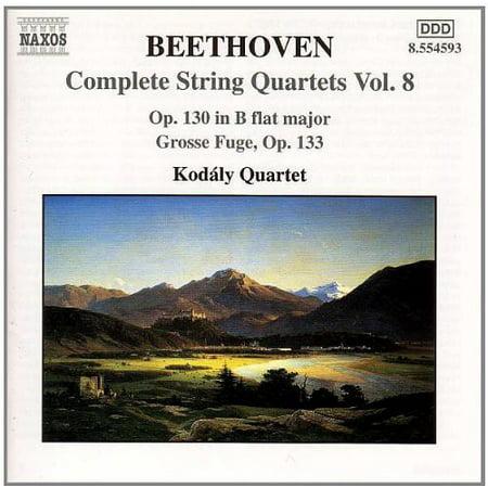 String Quartets 8 / Grosse Fuge (Koreanische Große Gläser)