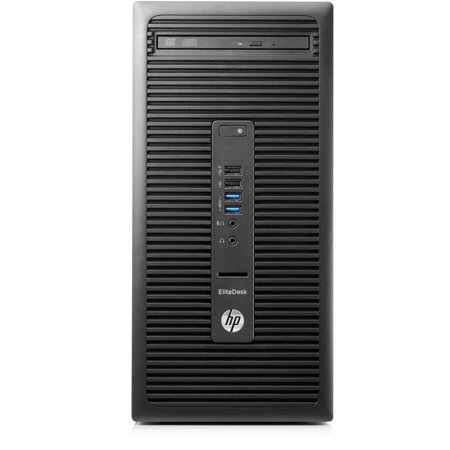HP EliteDesk 705 G2 P0D58UT Microtower Desktop PC with AMD A10 Pro-8750B Processor, 8GB Memory, 1TB Hard Drive and Windows 7 Professional (Monitor Not Included)