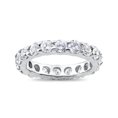 4ct Diamond Eternity Ring 950 Palladium