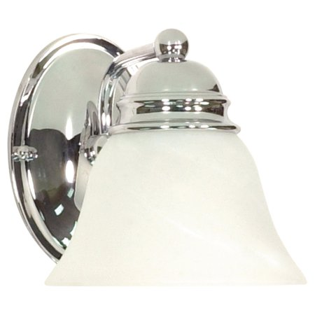 Alabaster Bell (Nuvo Lighting 60336 - 1 Light (Medium Screw Base) 6.25