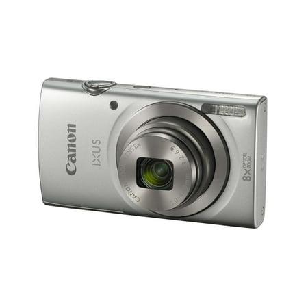 Canon PowerShot IXUS 185 / Elph 180 Digital Camera (Silver)