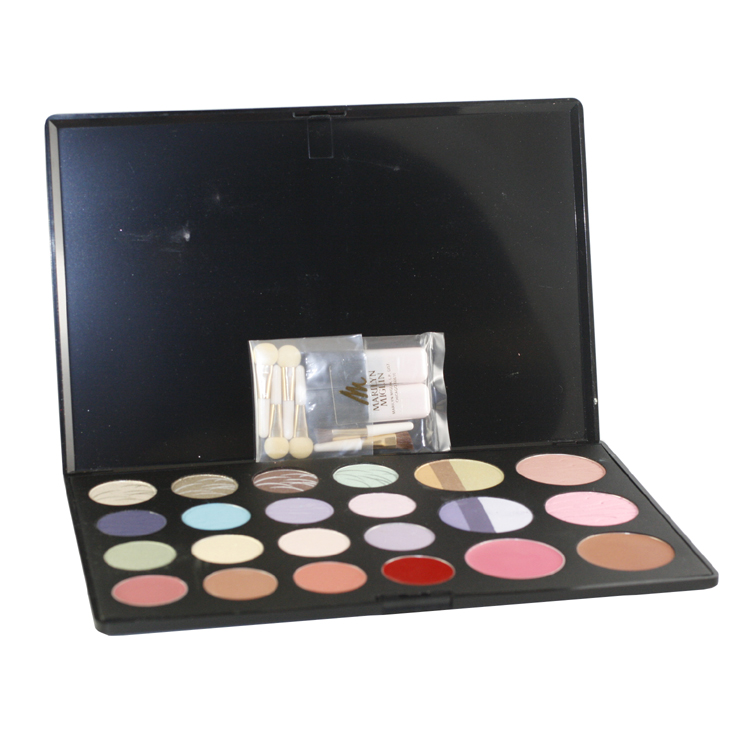 Marilyn Miglin A Matter Of Choice Palette - Eyeshadows - Polychromatic & Sheer Satin + Blushes - Mineral Matte & CrÈme Wear