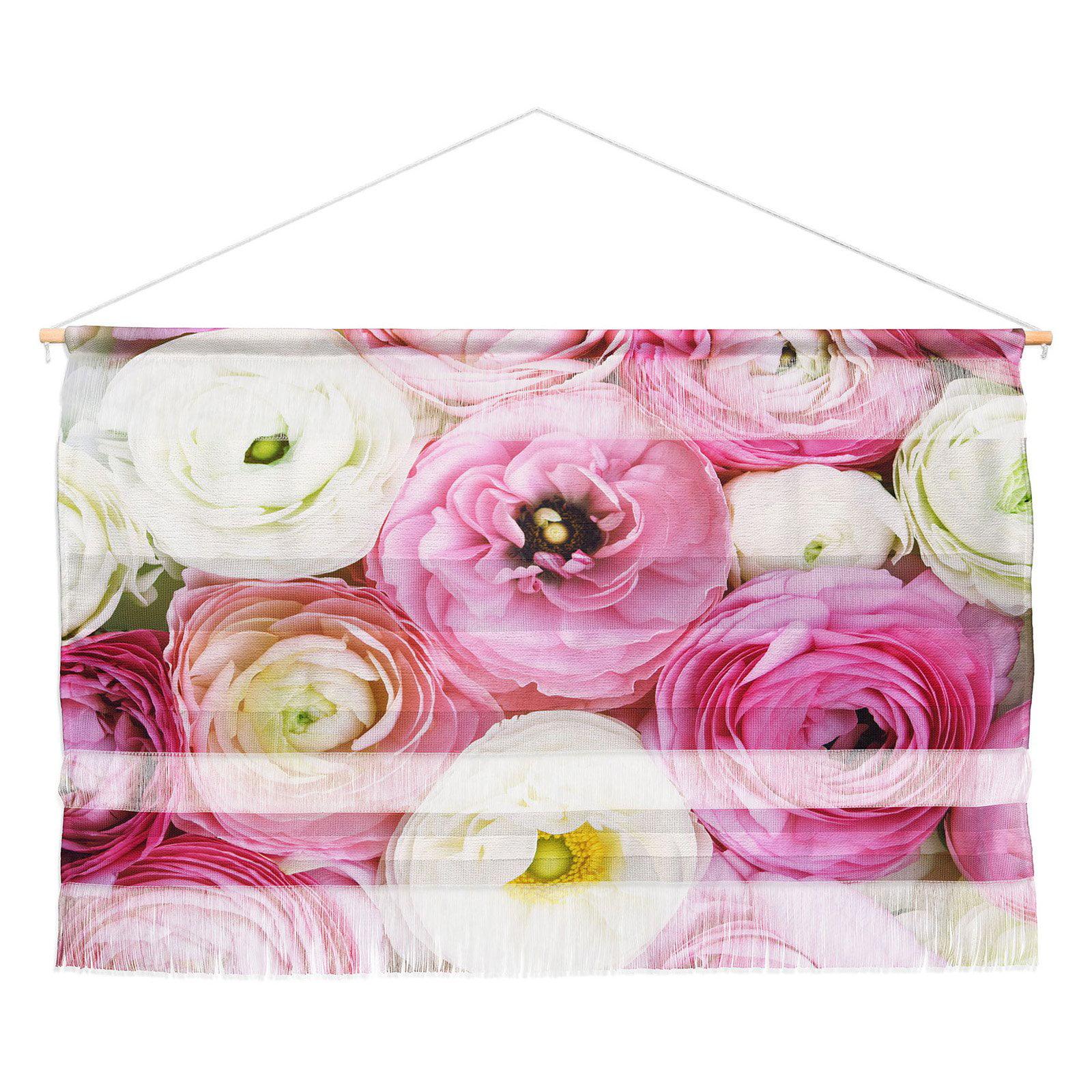 Deny Designs Bree Madden Pastel Floral Wall Scroll Walmart Com Walmart Com