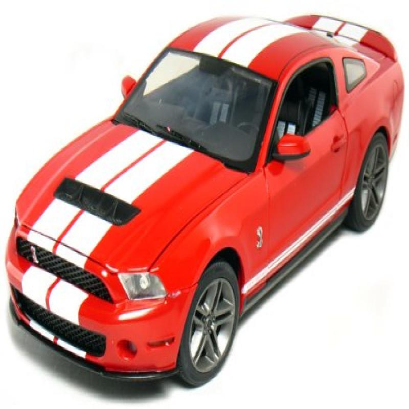2010 Ford Ford Shelby GT-500 1:18 Scale (Torch Red)