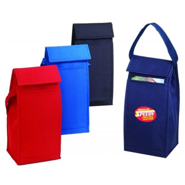 DDI 1923227 Poly Lunch Bag, Royal