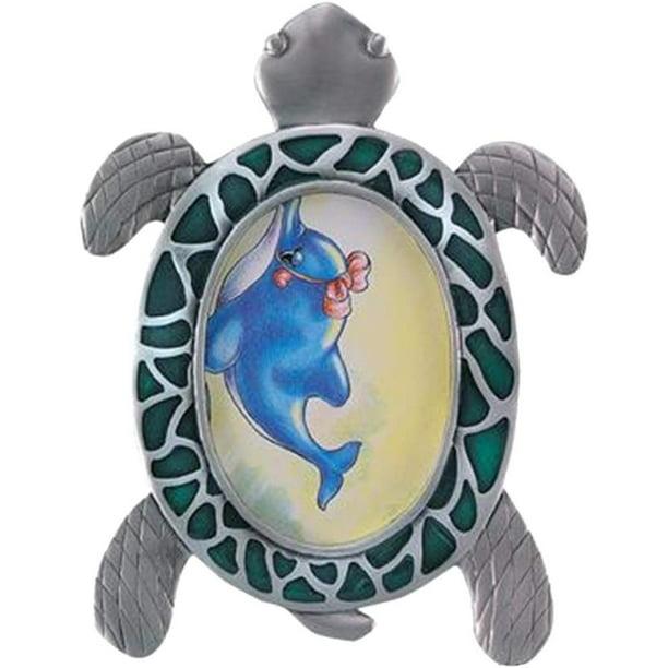 "Rhode Island Novelty OGN4115 2"" X 3"" Pewter Sea Turtle"