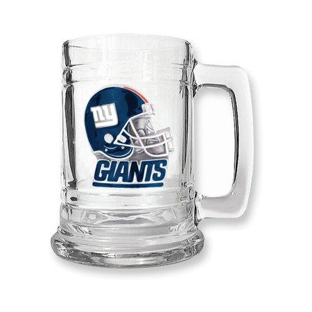 NFL NY Giants15oz Glass Tankard