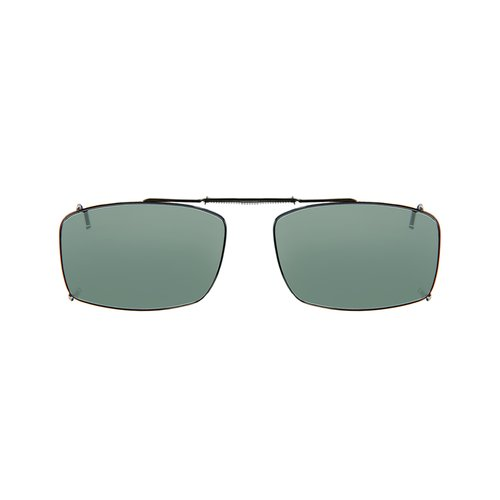 Solar Shield Fits Over Clip-On Sunglasses, Full Frame, AB Polarized