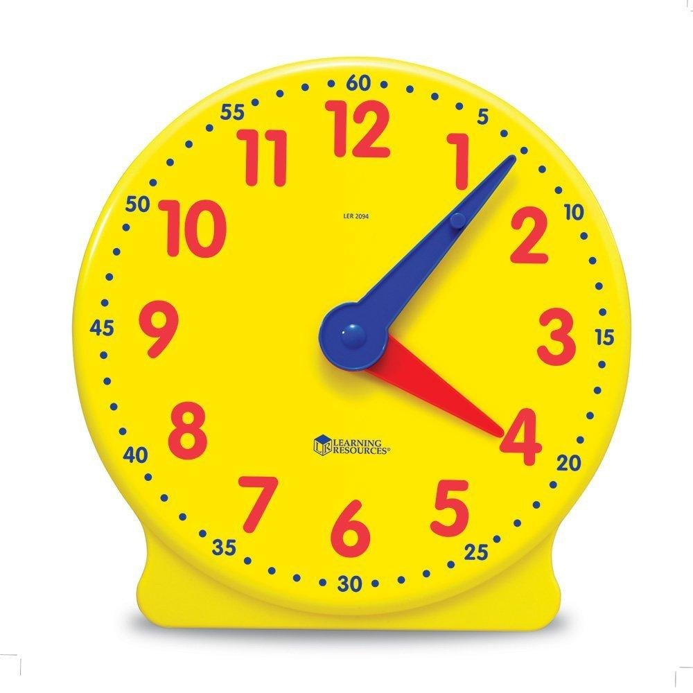Learning Resources Big Time Learning Clock, 12 Hour - image 4 of 5