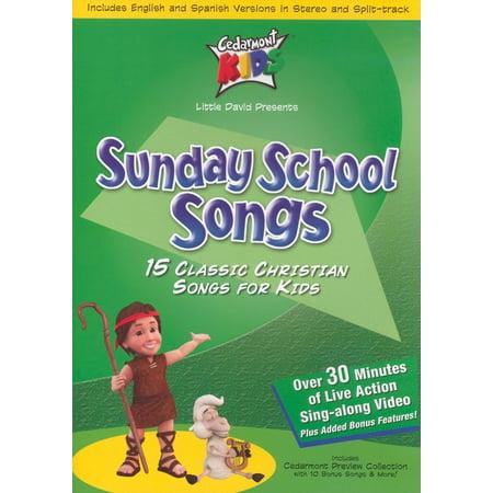 Sunday School Songs (Audiobook)