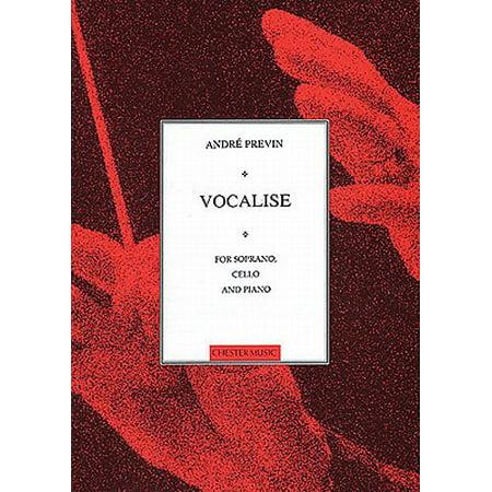 - Vocalise for Soprano, Cello and Piano