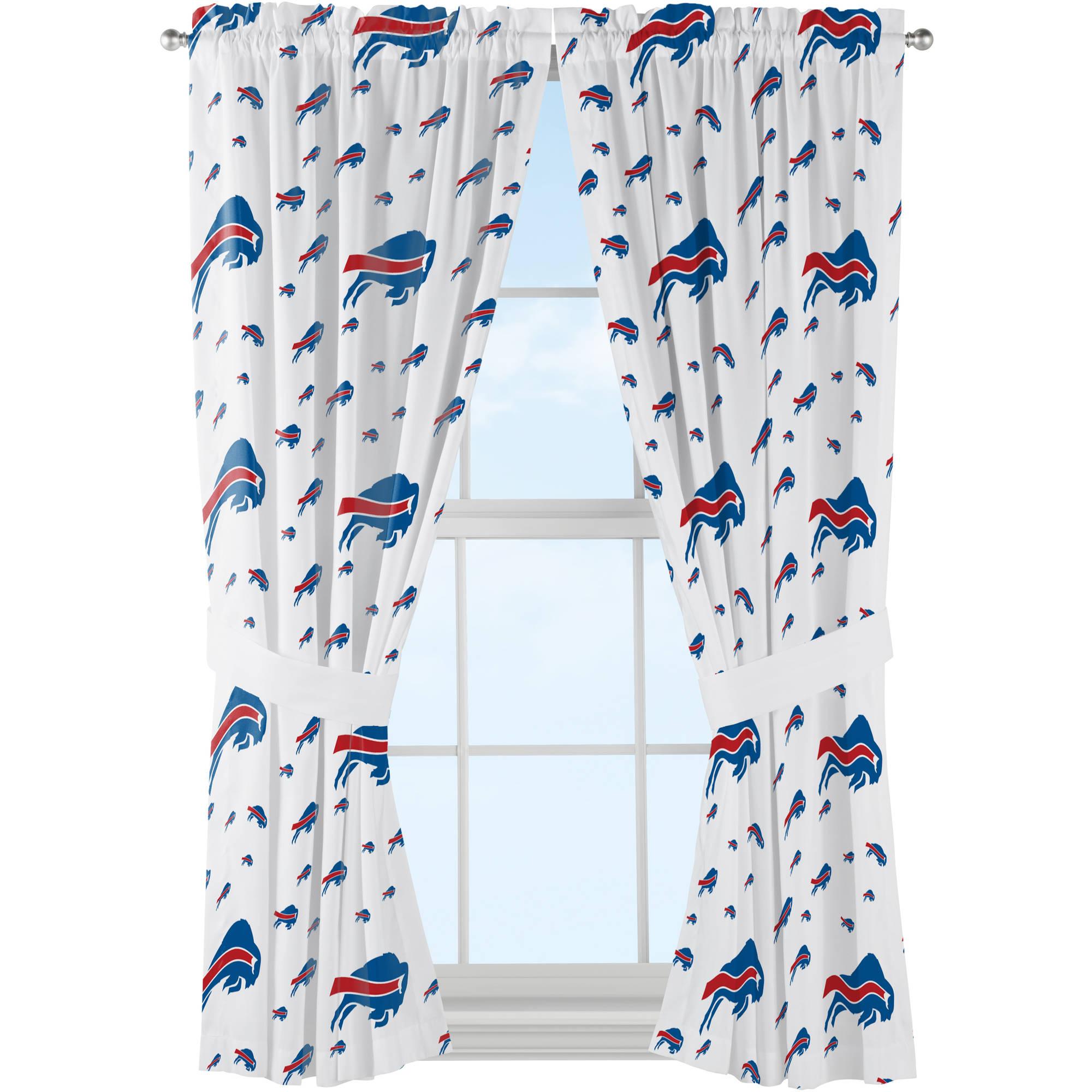 "NFL Denver Broncos ""Anthem"" Window Curtain Panels"
