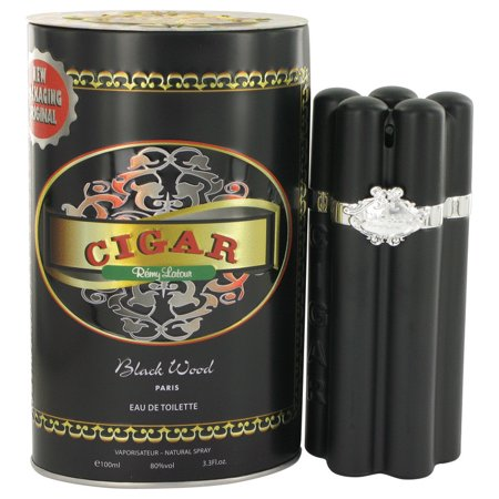 Black Cigars (Cigar Black Wood Eau De Toilette Spray 3.3 oz For Men 100% authentic perfect as a gift or just everyday use )
