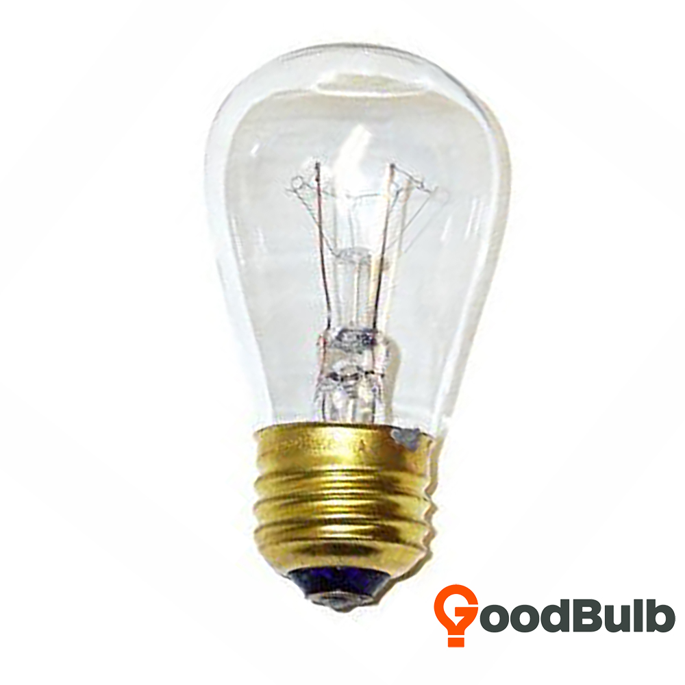 Goodbulb 11W S14 Replacement Incandescent E26 Medium Base Dimmable Light BUlb - Clear - 1 Pack