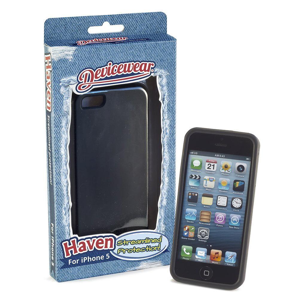 Devicewear Hav-iph5-blk Iphone[r] 5 Haven[tm] Case [black]