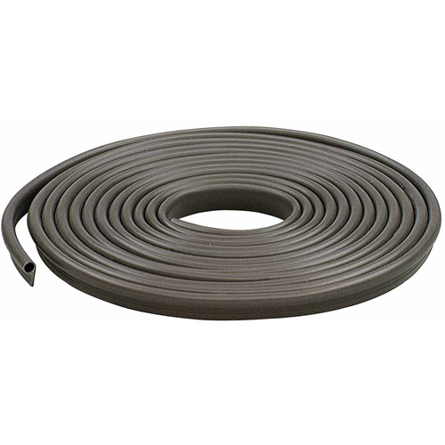 M-D Products 78196 17' Brown Vinyl Door Gasket