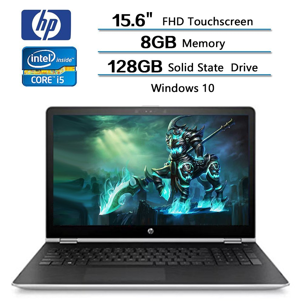 HP Pavilion x360 2-in-1 15.6 FHD Touchscreen i5-7200U 8GB RAM 128GB SSD Win 10