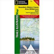 National Geographic Maps TI00000752 Boundary Waters East Superior National Forest Map by National Geographic