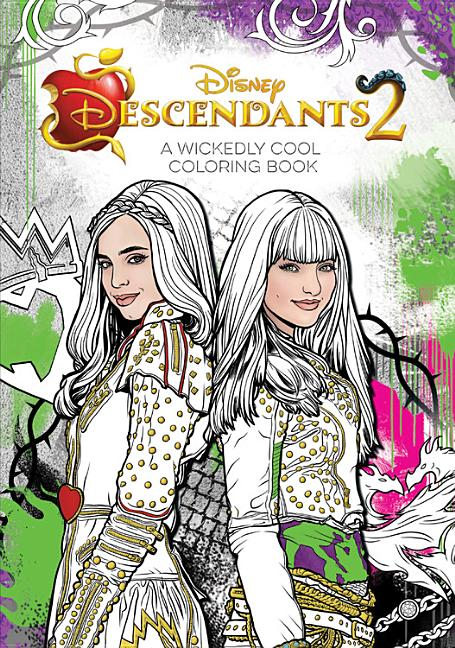 Descendants 2 A Wickedly Cool Coloring Book - Walmart.com - Walmart.com