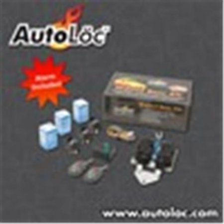AutoLoc Power Accessories 9689 Universal Bolt On Shave Door Kit - 1 PAIR with Alarm and Remotes - image 1 of 1