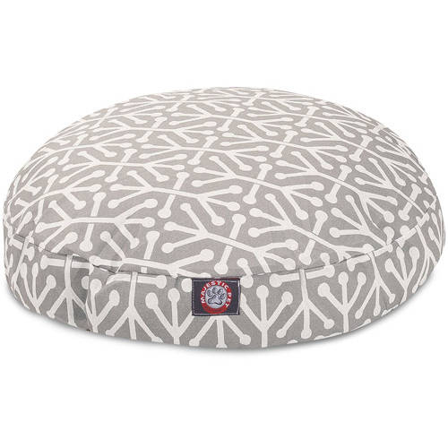Majestic Pet Aruba Large Round Outdoor Indoor Pet Bed Removable Cover
