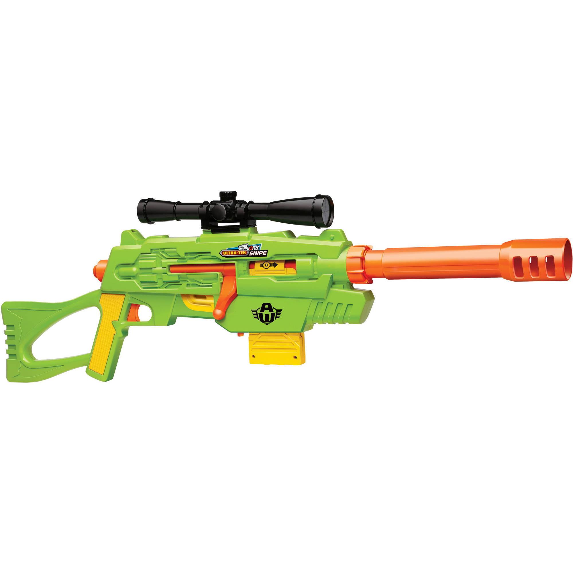 Buzz Bee Toys Air Warriors Ultra Tek Snipe Walmart Com Walmart Com