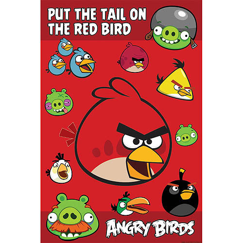 Angry Birds Party Game, Red