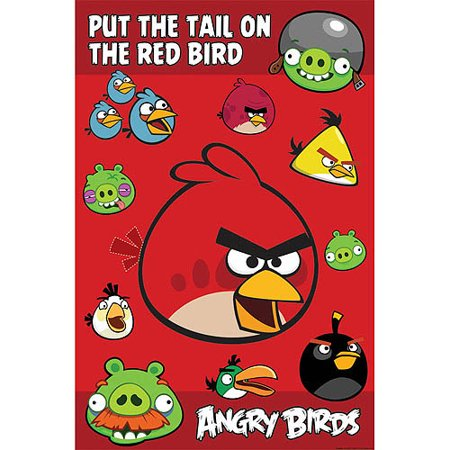 Angry Birds Seasons Halloween Games (Angry Birds Party Game Poster)