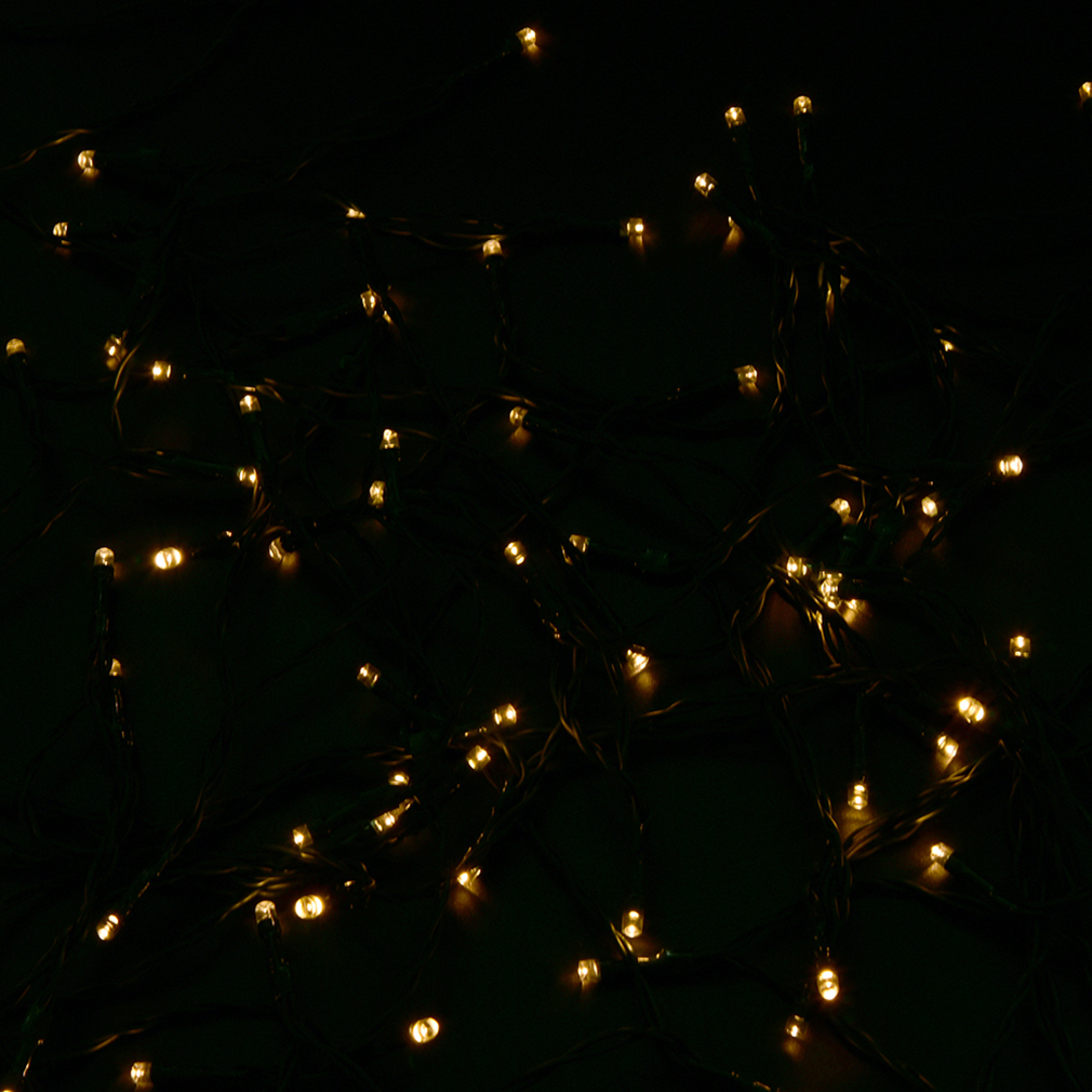 Warm white 40m 300LED Holiday String Fairy Light Wedding Party Light With Battery Case~~