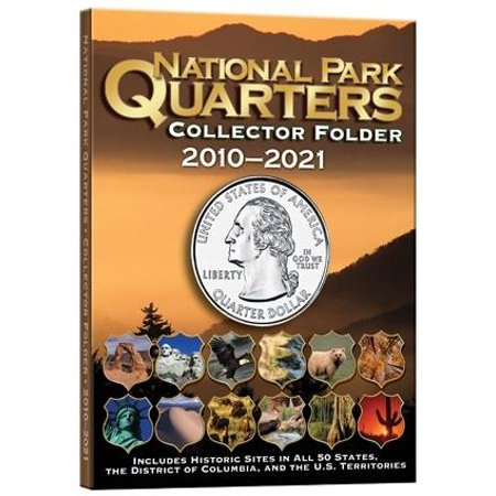National Park Quarters Collector Folder 2010 2021