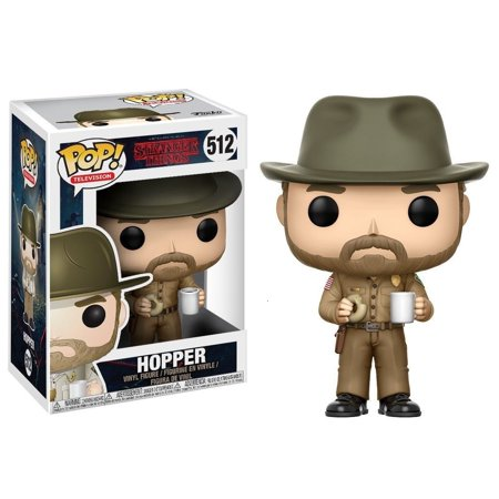 Funko Pop! Television Stranger Things Season 2 Hopper with Donut (Pops Donuts)